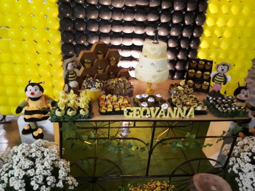 festa infantil abelhinha buffet aniversario (16)